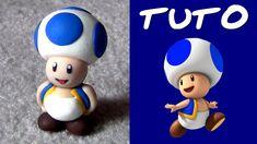 TUTO FIMO   Toad (de Mario)