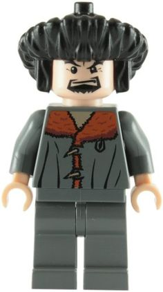 LEGO Harry Potter: Professor Karkaroff Minifigure: Amazon.co.uk: Toys & Games