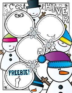 *** FREE *** C'est l'hiver ~ 5 senses activity to add to your winter lesson repertoire!