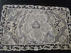 ANTIQUE LACE- FINE FRENCH NORMANDY PLACEMAT