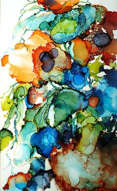 Wish I could do watercolor paintings like this!