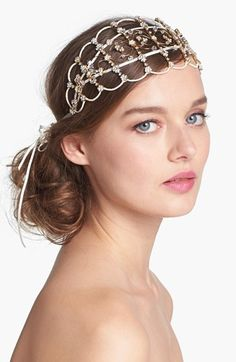 Tasha 'Juliette' Cap available at #Nordstrom. Not for my wedding...but beautiful!