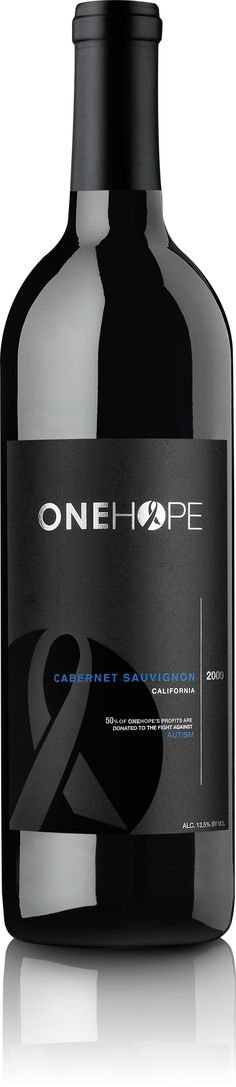 2012 ONEHOPE California Cabernet Sauvignon - Red Wine - Our Wines   ONEHOPE Wine    Support Autism and have a drink!