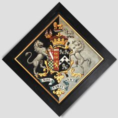 Heraldic hatchment in Arundel Castle Family Genes, Arundel Castle, Coat Of Arms, Funeral, Black Backgrounds, Knight, Flag, France, Display