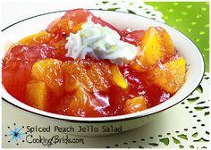 Spiced Peach Jello