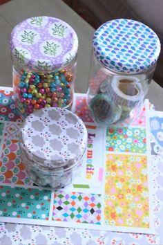 Recycler ses jolis papiers via Pouce & Lina