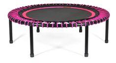 bellicon® Mini-Trampolin, 112 cm, schwarz-prink, pink