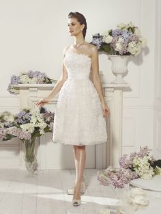 """Marsella"" #WeddingDress by Novia D'Art, 2014 Collections. www.noviadart.com"