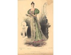 Evening gown, 1892
