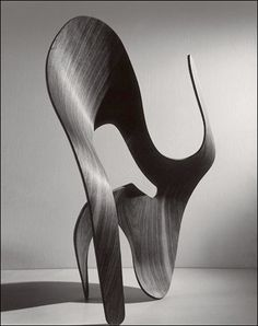 Plywood Sculpture by Ray and Charles Eames