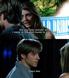 """Ryan and Marissa; 1.07: """"The Escape"""""""