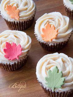 Cupcakes de Outono • Fall Cupcakes | Doces do Bosque