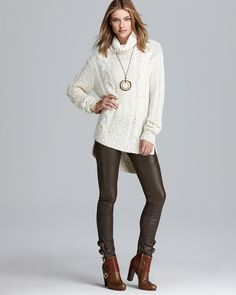 Rachel Zoe Sweater - Micah Cable Knit PRICE: $395.00