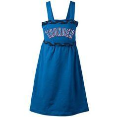 Oklahoma City Thunder Toddler Girls Braided Dream Dress - Light Blue