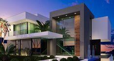 Modern Villa Designs by Gramaglia Arquitetura e Construção