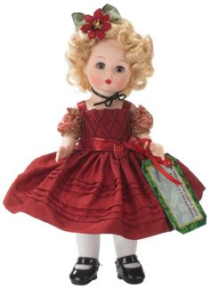 Madame Alexander Wendy Wishes You a Merry Christmas Fashion Doll Madame Alexander http://www.amazon.com/dp/B00BRKEU9Y/ref=cm_sw_r_pi_dp_fDnCub04A3YSN