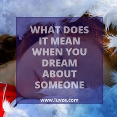 What does it mean when you dream about someone? Dreams can have many different meanings. Here are some interpretations about different dreams Crush Meaning, Spiritual Meaning, Meaning Of Love, Meaning Of Dreams, Different Meaning, Spiritual Guidance, Psychology Facts Dreams, Psychology Symbol, Spirituality