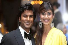 Actor Sendhil Ramamurthy and Pooja Batra co-emceeing the awards show. Pooja is the former Miss India and UB Group Brand Ambassador. Photo: www.michaeltoolan....