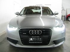 2012 Audi A6 3.0T Quattro Prem + and Sport Pkg. | Palace Auto Center #Audi #A6 #quattro #premium #sport