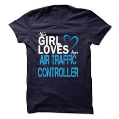 This Girl Loves Her Air Traffic Controller T Shirt