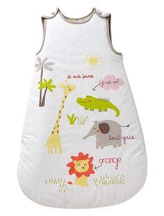 Embroidered Sleep Bag JUNGLE FRIENDS