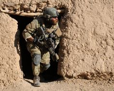 Photo showing a US Army Special Forces soldier on operations in Afghanistan. Army Humor, Military Humor, Military Gear, Military Life, Military Aircraft, Military Personnel, Military Service, Special Ops, Special Forces