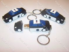 Police Car 8Gb Flash Drive, $12.00