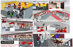 progetti 3D del nostro studio per clienti contact e locali  Living illuminazione riccione