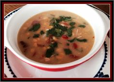 Mystery Lovers' Kitchen: Corn, Pepper, and Chipotle Chicken Chowder @LucyBurdette