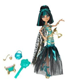 Take a look at this Monster High Cleo Denile Ghouls Rule Doll by Monster High on #zulily today!