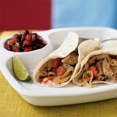 Lime-Cilantro Pork Tacos Recipe - Key Ingredient