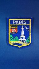 Vintage embroidered patch Paris Eiffel Tower