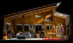 A Great Wilderness. Williamstown Theatre Festival. Scenic design by Wilson Chin.