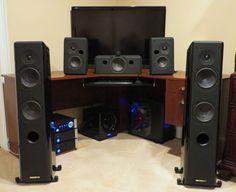 Sonus Faber Grand Piano Home Italian Handmade Speakers Full Surround System #SonusFaber