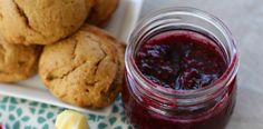 Raspberry Blueberry Jam-   Ingredients  2 cups frozen raspberries 1 cup fresh blueberries ⅔ cup honey juice of 1 lemon