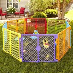BABY PLAYARD 8 PANEL GATE COLORPLAY PET PEN NORTH STATE SUPERYARD NEW #NORTHSTATE