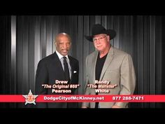 Drew Pearson and Randy White are proud to be on the Dodge City Team (+pl...