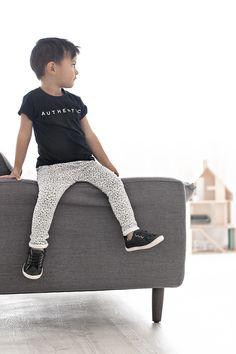 Hayden wearing Jax & Hedley and Tip Toey Joey shoes
