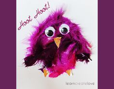 { Simple Baby Owl Craft }