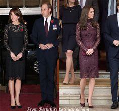 Kate Wears Gorgeous Velvet Coat to Festival of Remembrance