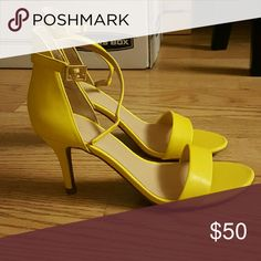 """NWT BP. 'Luminate' Heels These BP. 'Luminate' heels are NWT. I bought them to go with my wedding dress, but unfortunately they didn't really work together so I won't be wearing them. Super cute for spring! The heels are 3"""". bp Shoes Heels"""