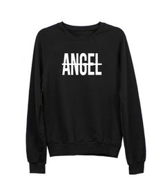 Angel Raglan Sweatshirt - Luxury Brand LA - Shop Fall/Winter Sales