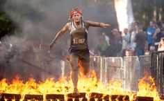 The Warrior Dash - Some day soon I hope to be able to compete!