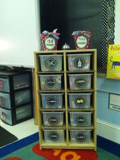 Great ideas for classroom organization