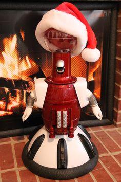 My Tom Servo all ready for the Holidays!