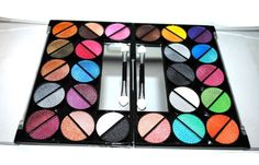 #Beauty #Products and #Cosmetics: Makeup: 48 Splashing Paint Design Color Eye Shadow Make-up Kit Palette