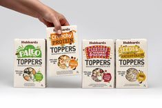 Hubbards Toppers — The Dieline - Branding & Packaging Design