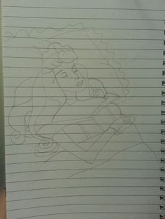 My slightly wonky drawing of Princess Aurora. By me :) #drawing #art