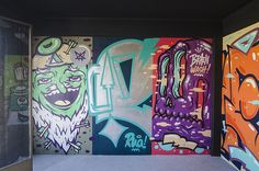 "street art (indoor): edifício axa - rua - ""porto sentido"""