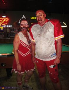zombie football player and cheerleader relationship